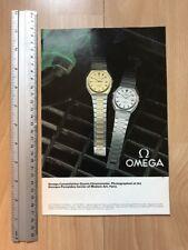 Omega Constellation Quartz 1980 Advertisement Pub Ad Werbung