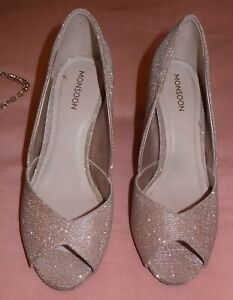 Monsoon Shoes size 5 and Matching Bag