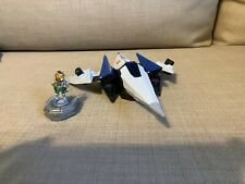 Starfox - Arwing & Fox McCloud(Nintendo) Ship Model & Figure Only - Collectible