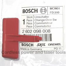 Bosch Forward/Reverse Change-Over Switch Lever PSB 16 RE Drill 2 602 098 008