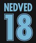 Lazio Nedved Nameset Shirt Soccer Number Letter Heat Football A 98 Maglia
