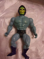 "Vintage 80s MOTU He-Man 6"" Figures Mattel Skeleton Action Figure Toy"