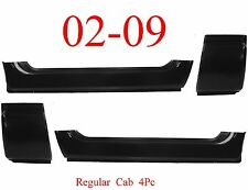 02 09 Dodge 4Pc Extended Rocker & Cab Corner Set Regular Cab Ram Truck, OEM Type
