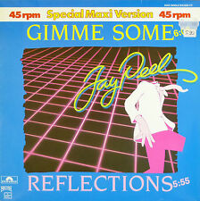 """12"""" Maxi - Jay Peel - Gimme Some / Reflections - B5 - washed & cleaned"""