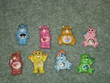 LOT OF 8 RARE CARE BEARS MAGNETS HAND-PAINTED CERAMICS ADORABLE