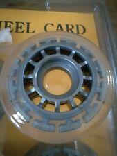 Skate wheel card 64 x 18 mm. 64Mm skate 4 wheel pack.