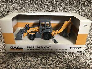 Ertl 1/50 Case Construction 580 Super N WT Backhoe/Loader-NEW!