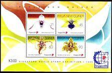 Papua-Neuguinea 1995 ** Bl.7 Blumen Flowers Orchideen Orchids [sq2138]