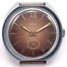 Vintage Soviet Russian ZIM POBEDA Watch Classic Big Dial 80s VGC *US SELLER*#974
