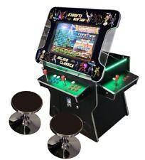 ✅ 4 Player Cocktail Arcade Machine🔥3500 Classic Games ✅ 26.5 Screen Black