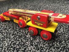 Thomas And Friends Brio Compatible Bigjigs Rail Magnetic Crane 2 Piece Set