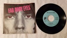 "THE ROLLING STONES Far Away Eyes PROMO ONLY 7"" Vinyl Single 45 Mono Stereo PS"