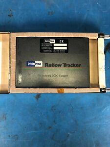 DATAPAQ Reflowpaq 2000 Logger Model RP0061B w/TB2001 Thermal Barrier *30DAY ROR*