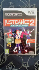 JUST DANCE 2 EXTRA SONGS WII  ITA NUOVO SIGILLATO