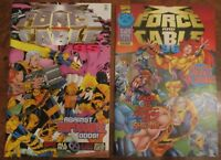 X-Force and Cable All New X-Men Special Event '95 and '96 Special Domino