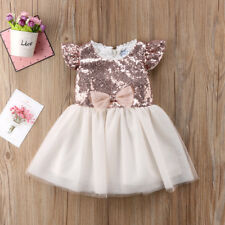 Princess Kids Baby Girl Floral Tulle Party Dress Lace Tutu Skirts Birthday Gift