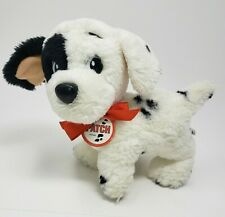 "7"" VINTAGE 1991 MATTEL 101 DALMATIANS DISNEY PATCH STUFFED ANIMAL PLUSH TOY"