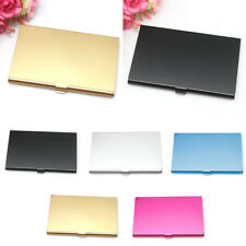 New Fashion Business ID Credit Card Case Metal Box Holder Stainless Steel Pocket