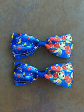 Finding Dory Hair Bows with Alligator Clips