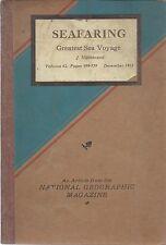 Magellan . Greatest Sea Voyagea . Bound 1932 Article National Geographic