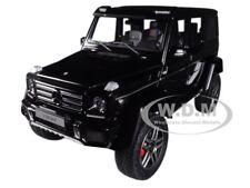 MERCEDES BENZ G500 4X4 2 GLOSS BLACK 1/18 MODEL CAR BY AUTOART 76317