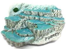 Pamukkale, TURKEY SOUVENIR RESIN 3D FRIDGE MAGNET SOUVENIR TOURIST GIFT 034