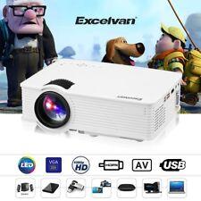 Mini LED Multimedia Projector Home Cinema Theater HDMI/USB/SD/AV/VGA/3.5mm EHD09