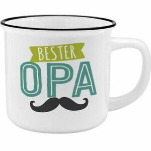 Sheepworld Becher Bester Opa Porzellan Kaffeebecher Kaffeetasse Tasse Henkeltass