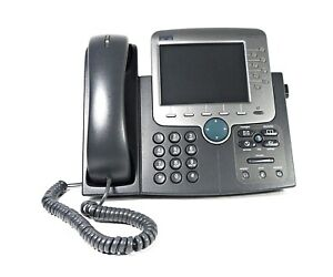 CISCO 7970G Unified IP Phone VoIP Phone PoE Business Telephone (CP-7970G)