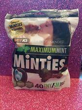VetIq Minties Dog Dental Bone Treats Food Dogs Tiny/Small 40 ct Usa made free sh