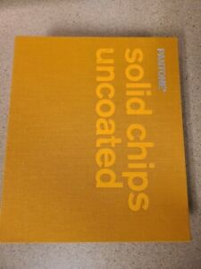 """Pantone binder solid chips uncoated 2000 7.5"""" x 2.5"""" x 9"""""""