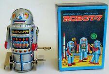 MECHANICAL ROBOT-7 TIN LITHOGRAPHED WALKING 3.5