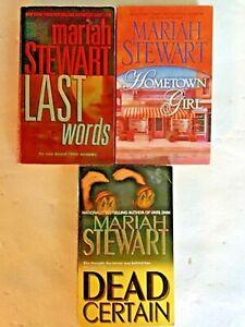 LOT OF 3 MARIAH STEWART PB BOOKS- -FREE SHIP