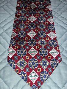 Men's Tabasco 100% Silk Tie