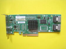 LSI 8-port Internal SATA/SAS 3Gb/s PCI-E RAID Controller Card P/N: SAS3081E-R