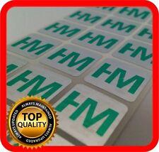 Your green print on 1000 hologram labels void warranty tamper seal 15x15mm