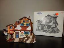 Dept 56 Alpine Village Bernhardiner Hundchen Kennel House With Box
