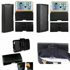 Phone Case Leather Magnetic Waist Belt For Samsung S10 S9 S8 S7 A10 A20 A30 A40