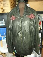 PRE-OWNED LIMITED EDITION AFFLICTION LEATHER JACKET 2XX 183/1200