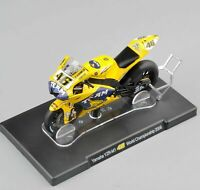 IXO-Altaya 1/18 Yellow Yamaha YZR-M1 46# World Championship 2006 Motor Bike Toy