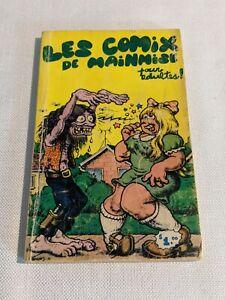 CRUMB LES COMIX DE MAINMISE #1 - EDITION ORIGINALE QUÉBÉCOISE 1970's