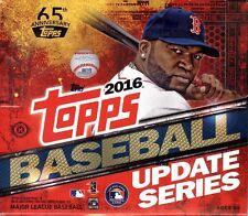 2016 Topps Update Series 3 Baseball HTA Jumbo Hobby 10 Pack Box (Sealed)