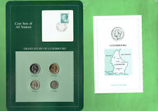CARDED  COINS OF THE WORLD - LUXEMBOURG