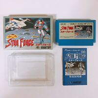 STAR FORCE Famicom Nintendo with box and manual Japan game FC NES