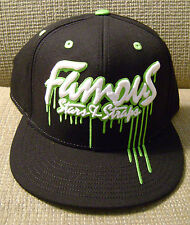 FAMOUS STARS & STRAPS FLAT FITTY OOZE 7 3/4 CAP HAT *NWT*