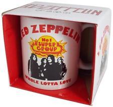 Led Zeppelin: Whole Lotta Love Ceramic Coffee / Tea Mug - New & Official In Box