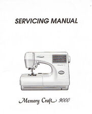janome sewing manuals instruction for sale ebay rh ebay com MC9000 Janome Memory Cards Janome Memory Craft 9000 Parts
