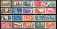 1932 Regno Marcia Roma Serie cpl. n. 325/340+A+E Usati