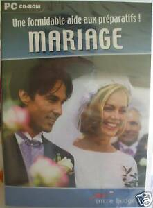 +qu'1 livre PC CD-ROM préparatifs organisation MARIAGE