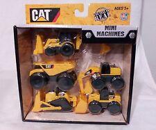 Caterpillar Toy State CAT Construction Mini Machine 5 Piece Play Cake Decoration